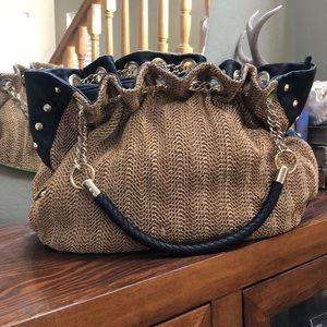 Olivia + Joy straw bag